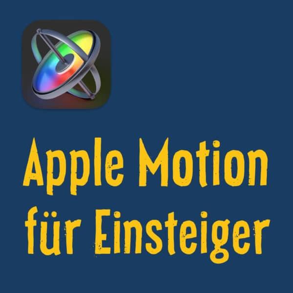 Apple Motion Grundlagen Video